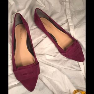 Sole Society Plum Flats